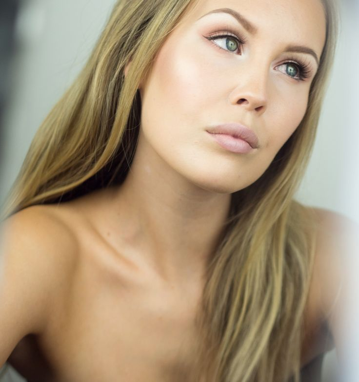 """Blogger """"Everything has beauty"""" used Lumene Longwear Blur Foundation in shade Classic Beige for this picture-perfect make-up base. Letting the blurring effect work its magic! #foundation #lumene"""