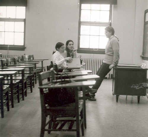 What Does A Stem Elementary School Look Like: Elementary School Memories Students In A Classroom (1970