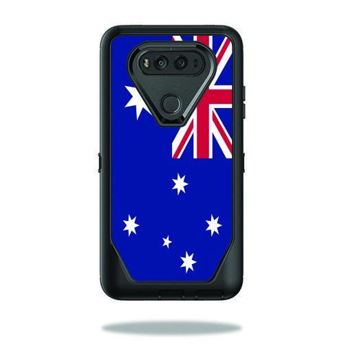 Skin Decal Wrap for OtterBox Defender LG V20 Case Australian Flag