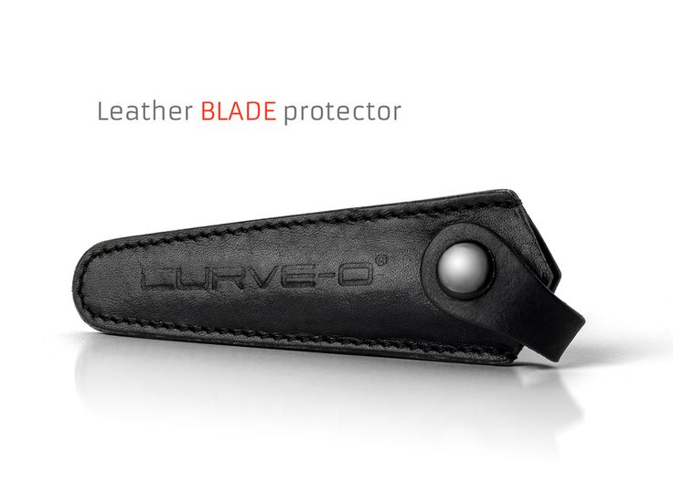 Curve-O Leather Blade protector.