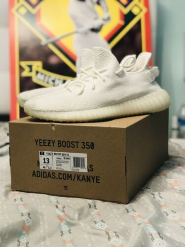 9845e997 adidas Yeezy Boost 350 V2 - Triple White Cream (CP9366) SIZE 13 - 100%