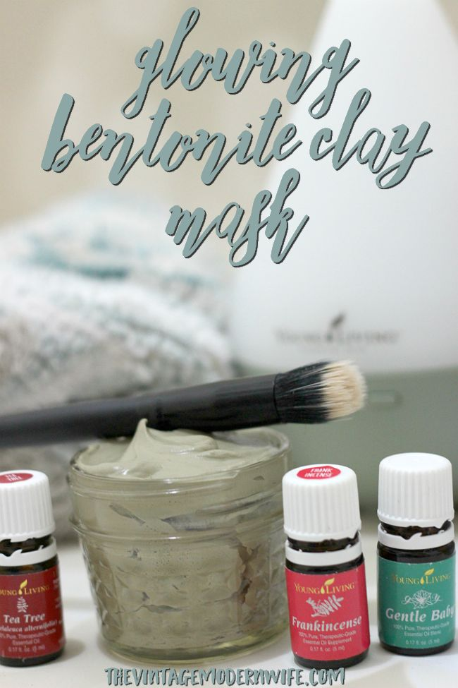 Looking for a mask that will make your skin soft, healthy, and glowing? This Glowing Bentonite Clay Mask is my personal favorite and works better than ANY mask I've ever tried!