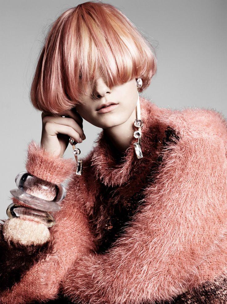 Yumi Lambert, Marga Esquivel, Chen Xi by Terry Tsiolis for Vogue China November 2015 6