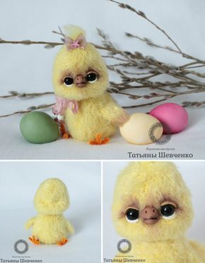 DIY Easter Chick | Пасхальный цыпленок своими руками