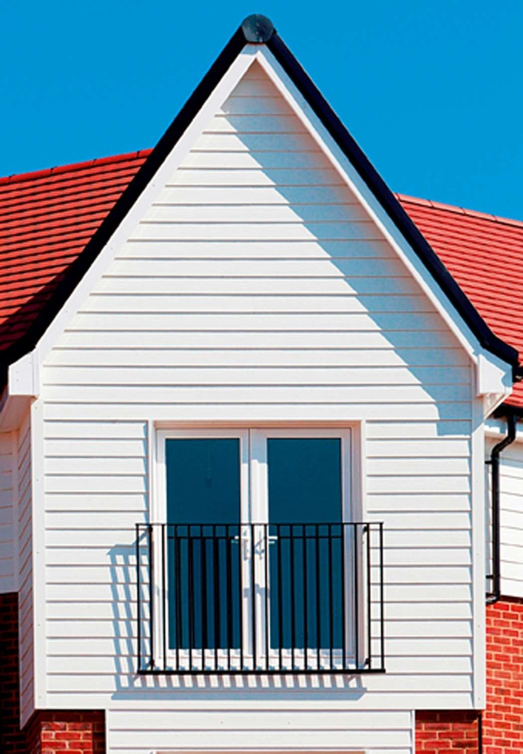 Marley Eternit's Fibre cement Cedral Weatherboarding.