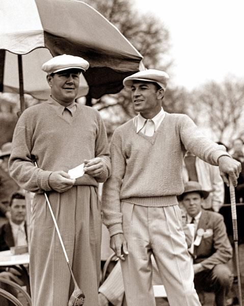 Ben Hogan Byron Nelson - The 31 Greatest Ben Hogan Photos Of All Time - Photos - Golf.com.  Hogan is a native of Stephenville and Nelson is from Waxahatchie.