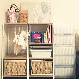 ベビー服収納のインテリア実例 - ayninjinの部屋 - 2017-01-19 08:45:43