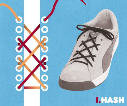 how to set up shoelaces