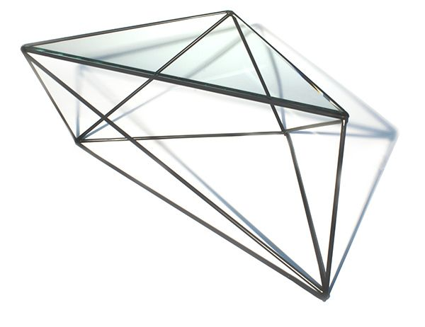 Geometric N | coffee table | Aldona Banasiuk