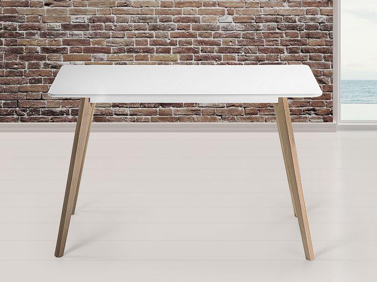 Scandinavisch design bureau of eettafel - wit FLY