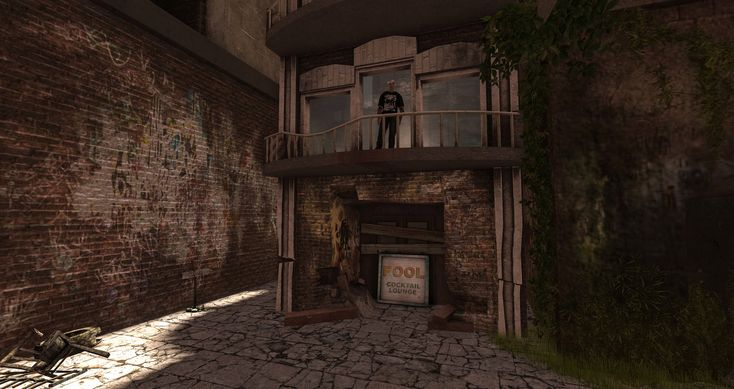 https://flic.kr/p/CU8JtF | brick and vine | Vimmershavn: Binmust, Second Life maps.secondlife.com/secondlife/Binemust/93/141/903