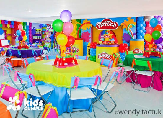 Play Doh Birthday Party Cumpleaños