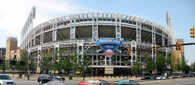 Progressive Field, Cleveland, Ohio - Home of the Cleveland Indians