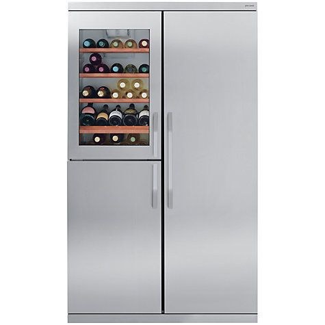 Image result for stainless steel slimline fridge