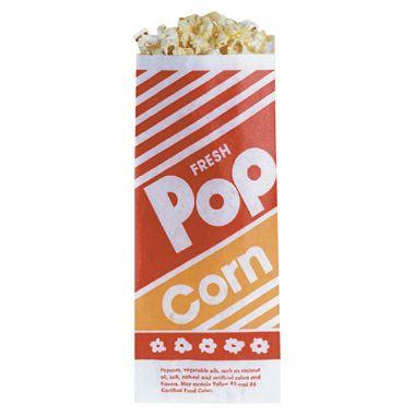 Gold Medal Popcorn Paper Bags - 1 oz. - 1,000 Bags $16.00