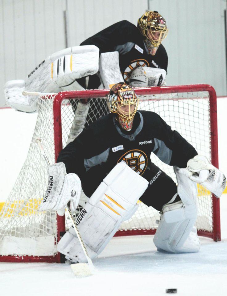 Your Boston Bruins goaltending tandem: Tuukka Rask and Anton Khudobin (Source: dougthethughamilton)