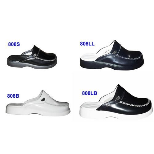 Leather Medical Orthopedic Slippers (Medical Clogs)808