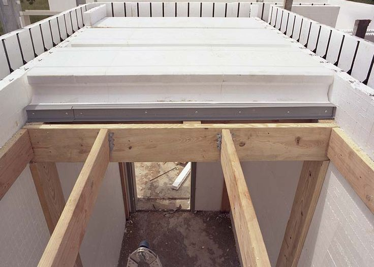 Builddeck safe room roof installation icf construction for Icf basement construction