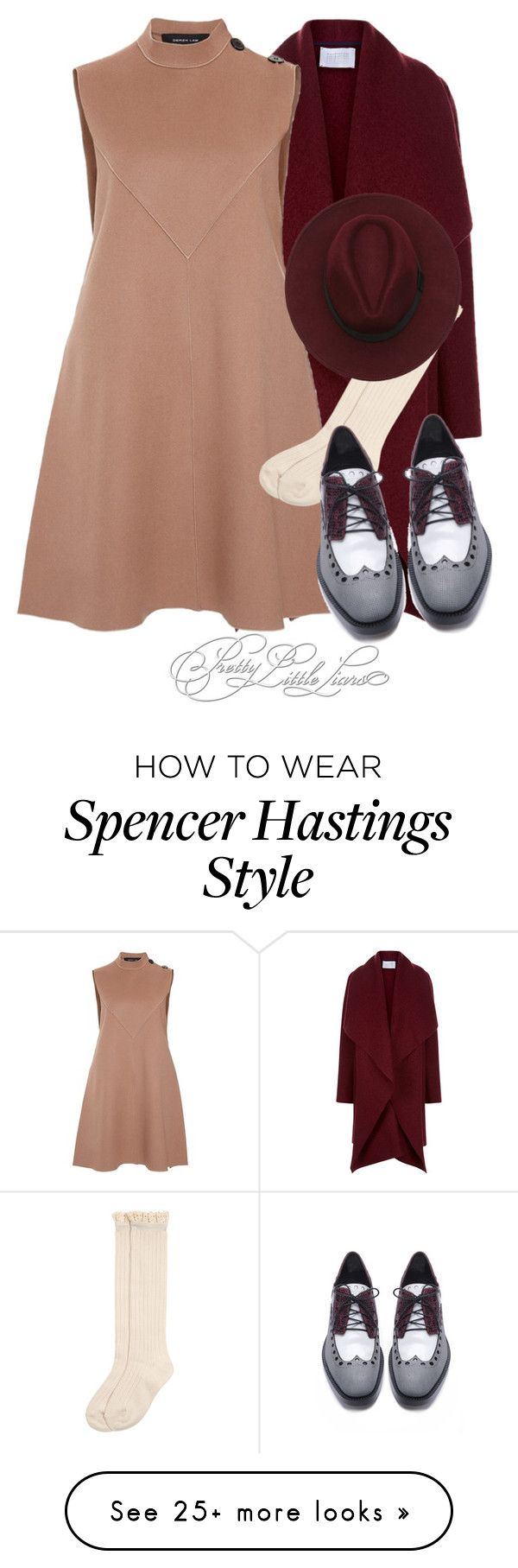 """""""Spencer Hastings inspired outfit"""" by vane-abreu on Polyvore featuring Harris Wharf London, Derek Lam, Monsoon and Alexander Wang"""