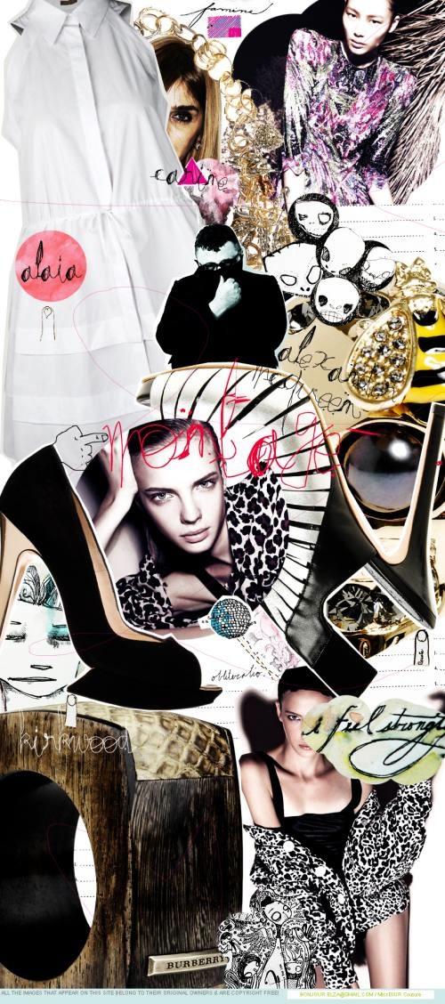 Personal portfolio; Fashion collage