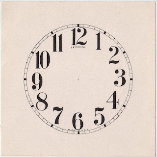 *The Graphics Fairy LLC*: Clock Face--perfect to give an old clock a makeover