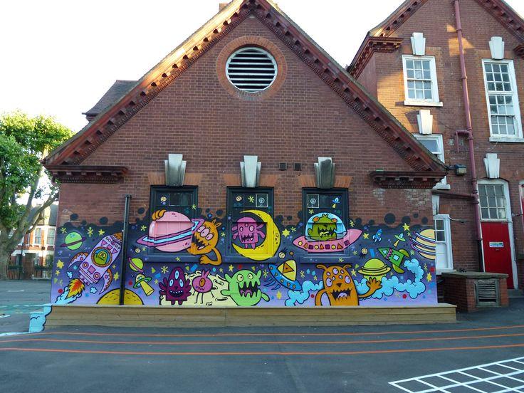 Harringay primary school mural