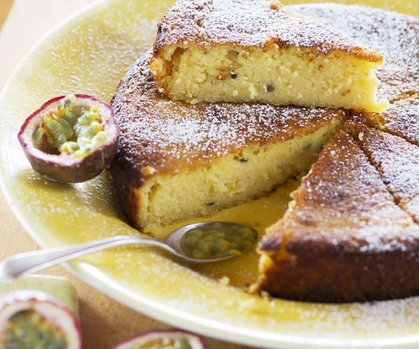 Passionfruit, lemon and yoghurt cake recipe - By New Zealand Woman's Weekly, This is one of those lemon yoghurt cakes that has it all – punchy flavour from the passionfruit and lemon, an incredible texture, and it keeps well. Nici Wickes' lemon passionfruit cake is a winner