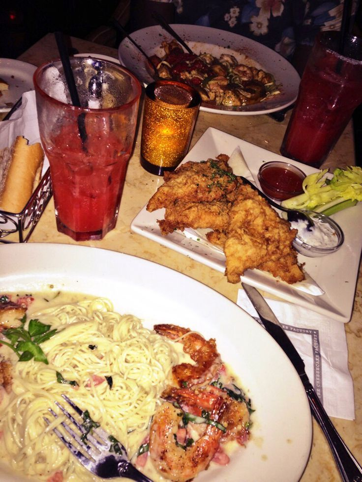 my favorite place! the Cheesecake Factory happy hour