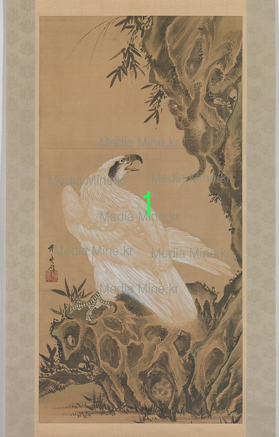Antique Eagle Painting  Asian Fine Art Print Order MadeBUY