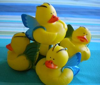 Fairy Party Games - Activities, Games and Lots of Sparkle - Floating Fairy Ducks