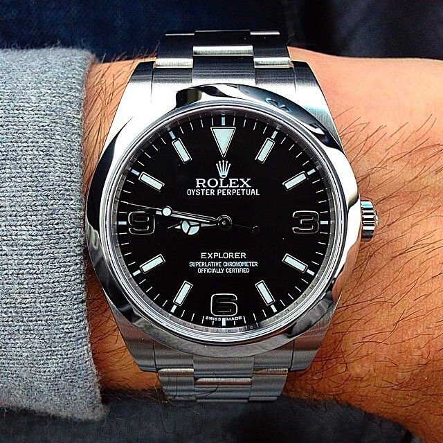 Dope Explorer ✌️ hugocaster@raul_montanho watchone#rolex #explorer @watchone