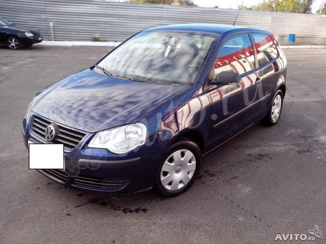 дизельки: Продажа Volkswagen Polo IV Рестайлинг 1.4d MT (70 ...