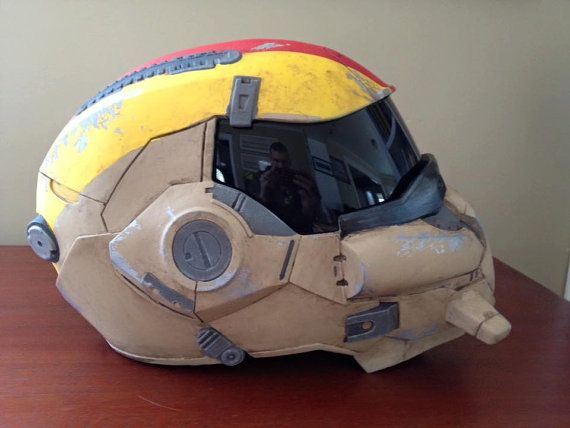FINISHED Destiny Hunter Infinite Lines Helmet by LunaArmorWorks