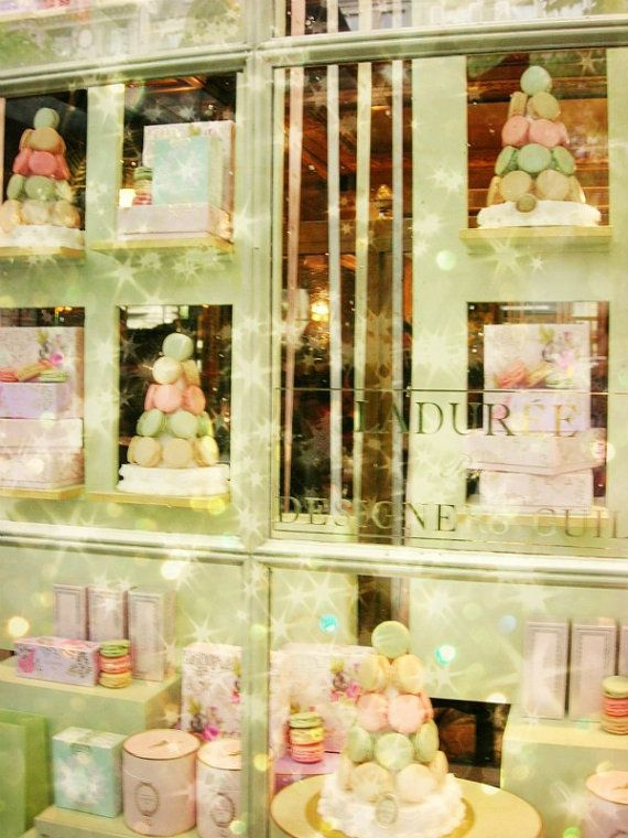 Ladurée, one of my fave Paris institutions. Of course love the macarons, but also their house-blend tea, their scented candles and they do a wicked brunch.
