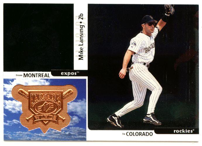 Mike Lansing # 339 - 1998 Upper Deck SPx Finite Baseball