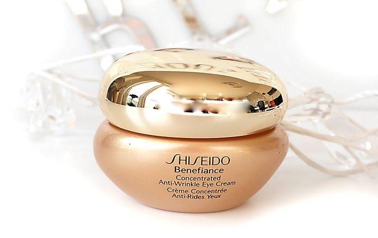 Macie ulubiony krem pod oczy? Nowy post  Recenzja Shiseido Benefience już na blogu deliciousbeauty.pl
