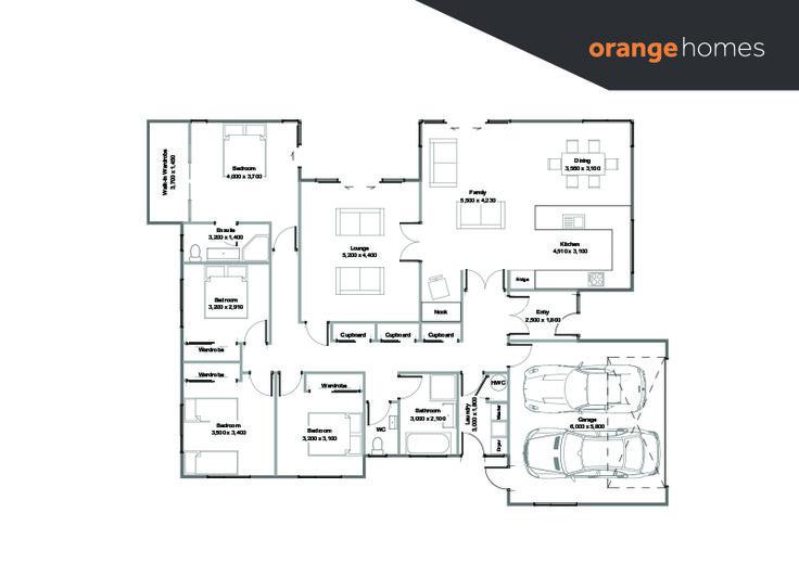 Raphael House Plan » Orange Homes