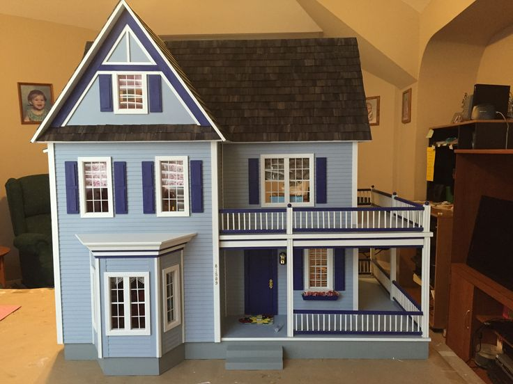 Three Story Eight Room Dollhouse IdeasVictoria S DollhousesFarmhouseRural