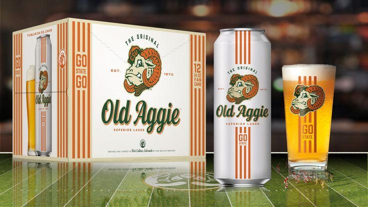 New Belgium and Colorado State Collaborate on 'Old Aggie Superior Lager' #beer #craftbeer #party #beerporn #instabeer #beerstagram #beergeek #beergasm #drinklocal #beertography
