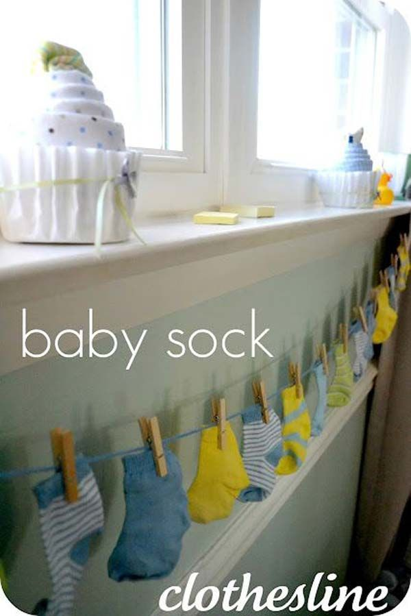 25 best ideas about baby shower decorations on pinterest for Baby shower decoration ideas for boys