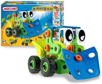 Meccano - 733120 - Jeu de Construction - Bulldozer: Amazon.fr: Jeux et Jouets