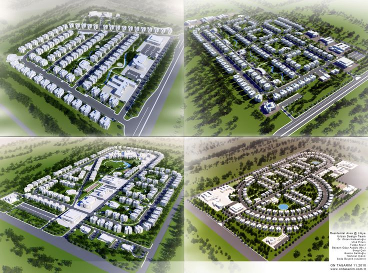 Urban Design @ Libya Site Renders