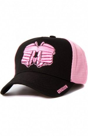 DROP THE MITTS AND DUMMY BC - At GONGSHOW, we believe it's our duty to help grow the game and give back whenever we can.  Through out the year, we participate in raising thousands of dollars for charities, including this one.  A portion of each sale of this hat will go directly to supporting The Canadian Breast Cancer Foundation .  Thank you for your support! GONGSHOW