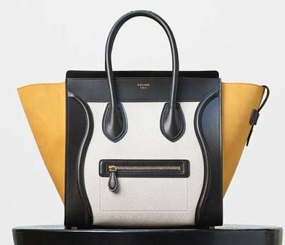 Celine - Micro Luggage Tricolor Tote