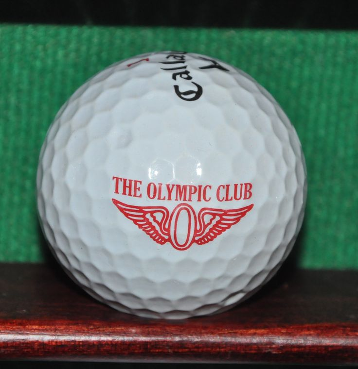 The Olympic Club San Francisco Logo Golf Ball. Callaway