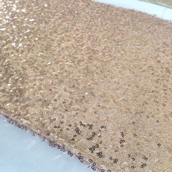 Sequin Table Runner  12x108  by CreativePapier on Etsy, $33.00
