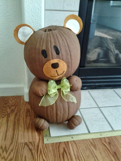 Pumpkin Bear Life Of The Bullocks Part Ii Teddy Bear