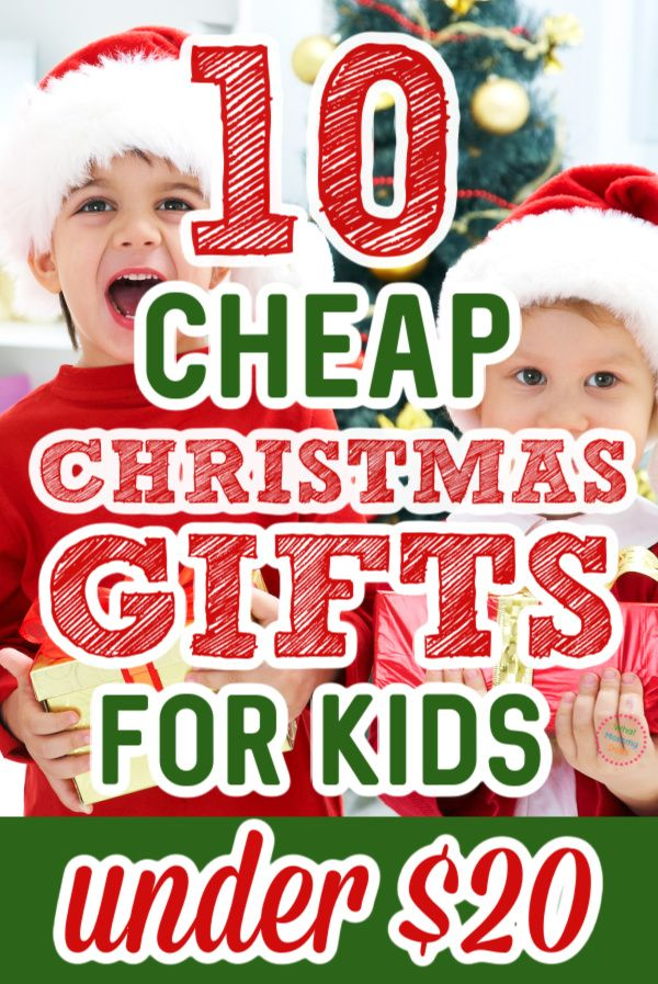 10 Cheap Christmas Gift Ideas For Kids All Under 20 In 2020 Cheap Christmas Gifts Cheap Christmas Creative Christmas Gifts