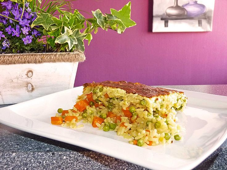 Allerfeinster Reis - Gemüseauflauf 4