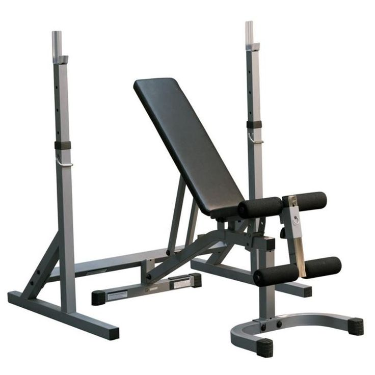 Powerline squat and bench combo package gymbasis store